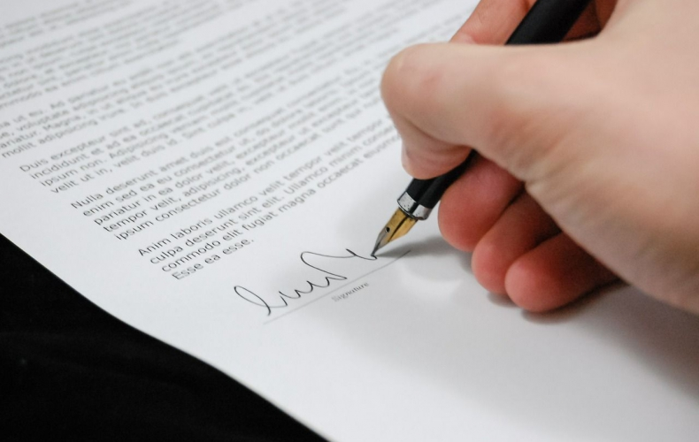 Signing liability waiver legal contract