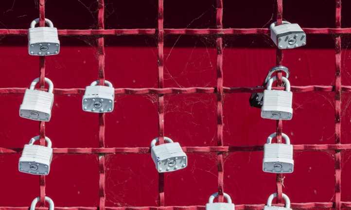 Locks presenting security on encrypted PDFs